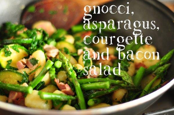 Gnocci, Asparagus