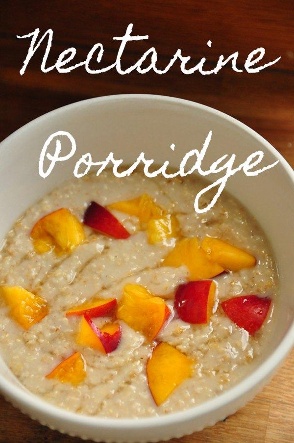 Nectarine Porridge