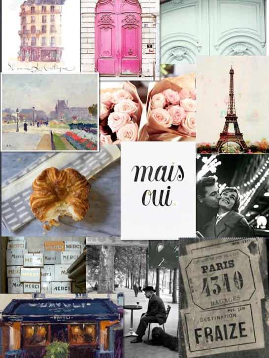 Paris Mood Board