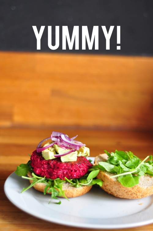 Beetroot Burger 2